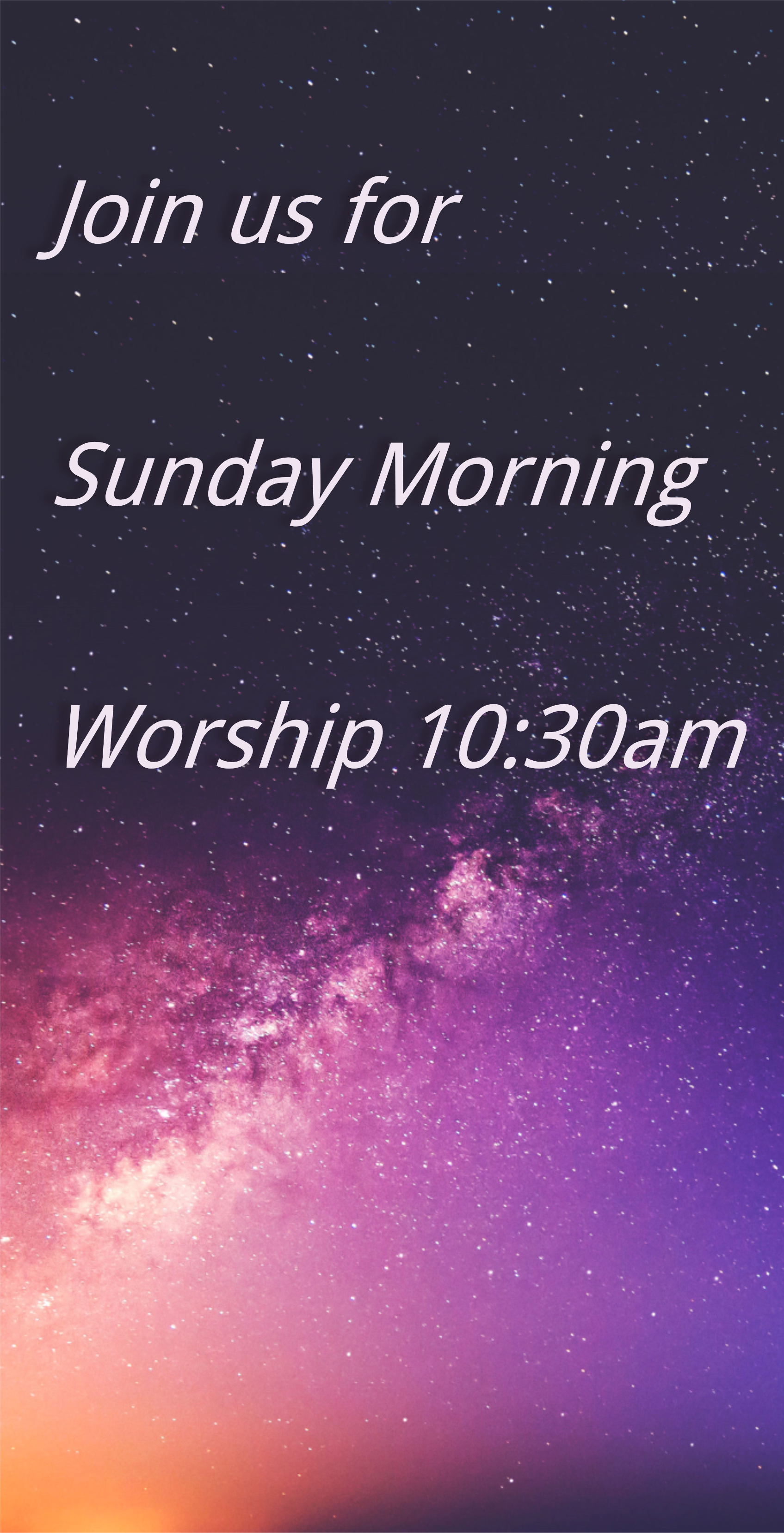 Sunday Morning Worship 10:30am